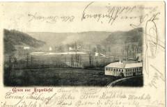 Pohlednice Angrova mlýna  z  12. 8. 1907