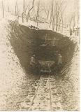 Počátek stavby 300 metrů dlouhé štoly I. brněnského vodovodu
