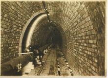 Pohled do vnitřních prostorů štoly 1911