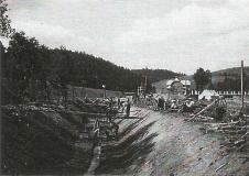 Regulace řeky Svitavy.