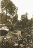 Původní splav na Muzlově před rokem 1930