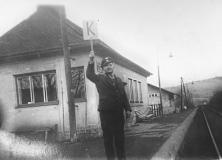 Pan František Ducháček na hradle Dlouhá