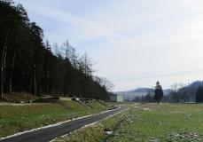 Porovnávací fotografie ze stavby II. brněnského vodovodu.