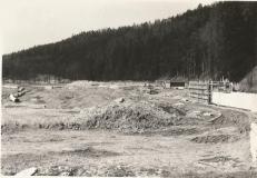 Stavba II. brněnského vodovodu 1973