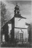 Kaple sv. Františka Xaverského - fotografie z roku k. r. 1970