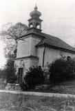 Kaple sv. Františka Xaverského - fotografie z roku k. r. 1974