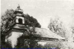 Kaple sv. Františka Xaverského - fotografie z roku 1976