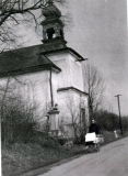 Kaple sv. Františka Xaverského - fotografie z roku 1972
