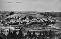 Celkový pohled na obec Muzlov-Muslau