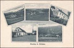 Pohlednice Muzlov  rok 1935-1940