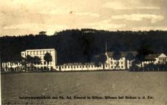 Textilní továrna fy. Adolf Freund Muzlov