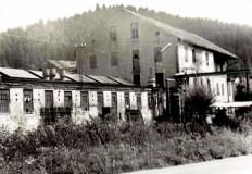 Textilní továrna fy. Freund Muzlov- rok 1975