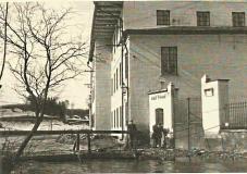 Pohled na továrnu Adolfa Freunda z roku 1936