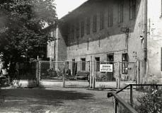 Textilní továrna v roce 1969