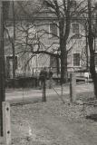 Pohled ze dvora vily, rok 1972