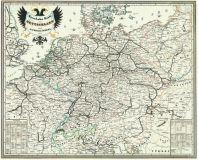 Železnice v Monarchii - mapa z roku 1849