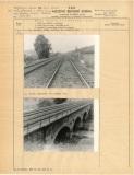 Karta z mostní a servisní knihy ČSD z roku 1968