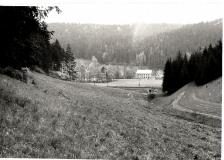Pohled na trať z Ančina údolí 1970