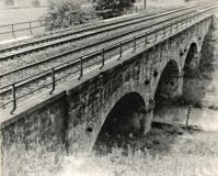 Viadukt za muzlovským tunelem- směr Svitavy 1968